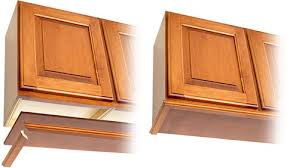 unfinished kitchen doors choice photos: option for finishing the cabinet underside
