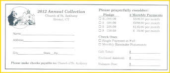 pledge card template he design free templates church