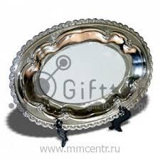 Купить <b>Тарелка металлическая овальная</b> 24,5х17см в Ростове-на ...