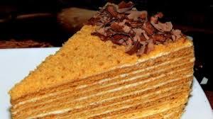 Classic Honey Cake Ukraine National Cuisine Recipes Info