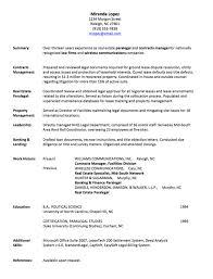 Resume Employment History