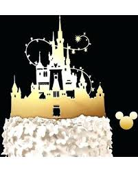 Disney Wedding Toppers Image 0 Disney Castle Wedding Cake Toppers Uk
