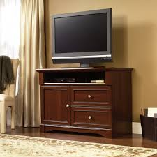Cherry Wood Dvd Storage Cabinet Tv Stands New Design Tv Stand With Drawers And Open Storage