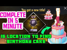 Pubg Birthday Party Cake 15 Location Easily You Find How To