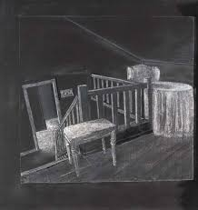 Attic drawing French Artwork By Juan Muñoz Raincoat Drawing attic Of My Family Made Of The Metropolitan Museum Of Art Muñoz Juan Raincoat Drawing attic Of My Family 1994 Mutualart