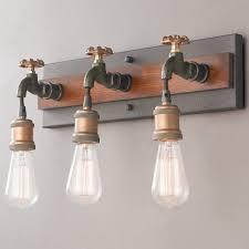 industrial style bathroom lighting. Bathrooms Design Industrial Style Bathroom Mirror Bath Vanity Lights Brushed Nickel Light Bar Lighting R
