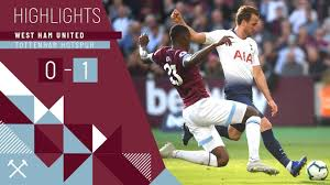 HIGHLIGHTS | WEST HAM UNITED 0 - 1 TOTTENHAM HOTSPUR - YouTube