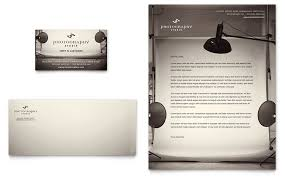 Letterhead Format Word Extraordinary Photography Studio Business Card Letterhead Template Word