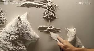 drywall artist creates stunning