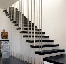 extraordinary staircase railing designs stair railing design modern silver  metal staircase railing and black stairs