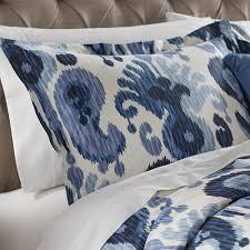 standard pillow shams. Home Decorators Collection Still Water Indigo Standard Pillow Sham Shams H