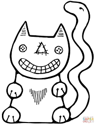 Small Picture Halloween Cat coloring page Free Printable Coloring Pages