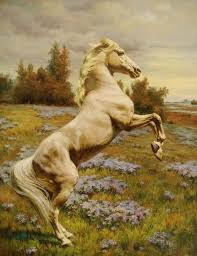 horse oil paintings 031