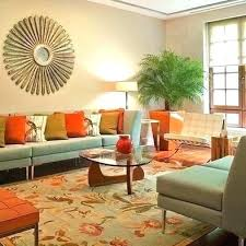 orange room decor teal and orange living room teal and orange living room and teal orange