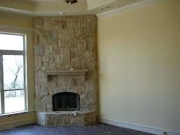 corner stone fireplace what not to do for corner fireplace notice awkward transition from bare wall