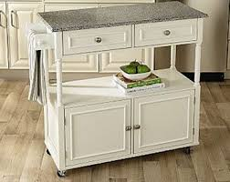 Kitchen Island Cart Granite Top With Sandra Lee 129 59 Down From 189