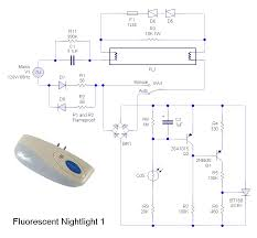 various schematics and diagrams fluorescent nightlight 1