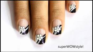 French Tip - Fimo Flower ❤ Cute Nail Art Fimo Cane Nail Designs ...