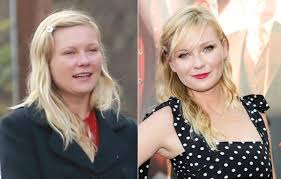 winner of awards like best kiss and saturn award it is difficult to see her without makeup the only photo we have of her shows the great difference that