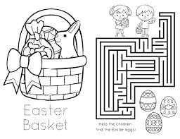 Free Printable Easter Coloring Pages For Kindergarten Free Printable