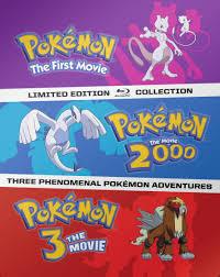 Pokemon Movies 1-3 [SteelBook] [Blu-ray] - Best Buy