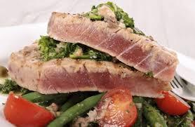 grilled terranean ahi tuna