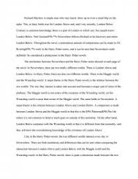 harry potter vs neverwhere essay zoom