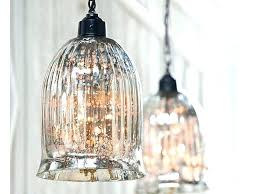 mercury glass pendant light mercury glass pendant lights over kitchen island light bell shade mercury glass bell pendant light shade