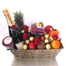 baskets towers and buckets are perfect for sharing this festive season as they are filled to the brim with a delightful selection of seasonal fruits