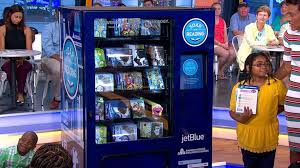 Book Vending Machine Simple Book Vending Machine Programs Expands Video ABC News