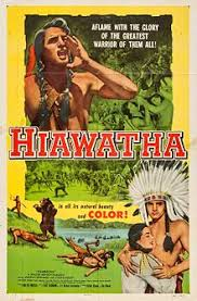 hiawatha film  hiawatha 1952 poster jpg movie poster