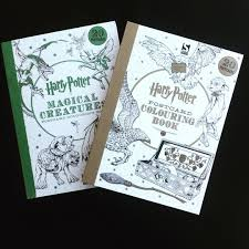 Harry Potter Postcard Colouring Books Harrypottercolouringbook