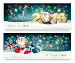 happy new year banner 2016. Wonderful 2016 Happy New Year Banners With 2016  SeasonsHolidays Inside Banner