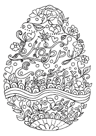 Small Picture Free Easter Coloring Page Easily Create A Hand Made Easter Easter