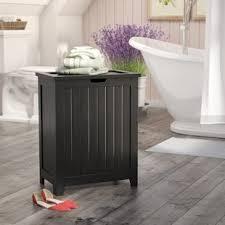 Contemporary Cabinet Laundry Hamper & Corner Hamper Cabinet | Wayfair Cheerinfomania.Com
