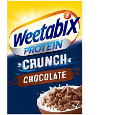 Start the day with one of our delicious cereals as part of your healthy and balanced diet. Weetabix Protein Crunch Chocolate Cereal Morrisons