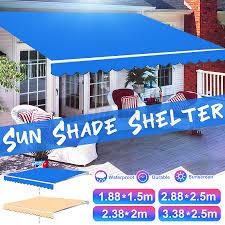 garden patio awning canopy sun shade