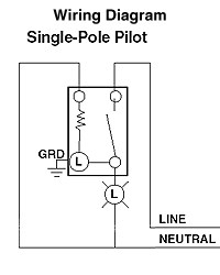 pilot light switch wiring diagram pilot image leviton light switch wiring diagram leviton image on pilot light switch wiring diagram