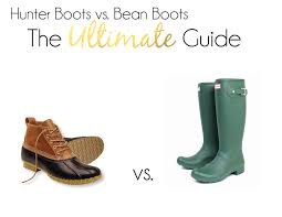 Ll Bean Boot Size Chart L L Bean Boots Vs Hunter Boots The Ultimate Guide
