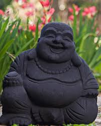 garden buddha statues. Laughing Buddha Statues In Sand Stone (Multiple Colors) Garden