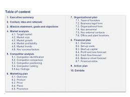 Operation Plan Outline Download A Simple Business Plan Template By Ex Mckinsey Consultants