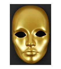 Mask Designs Full Face Midwest Design Gold Mask It Form Full Face