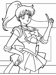 Small Picture Sailor Jupiter Coloring Pages Coloring Home
