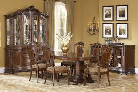 old world dining set
