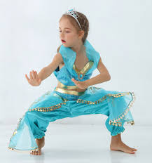 <b>High Quality Adult</b> Kids Aladdin Princess Jasmine Costume Cosplay ...