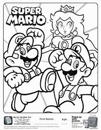 Mario And Luigi Coloring Pages Awesome Paper Mario Coloring Pages