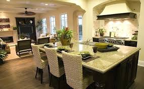 small open floor plan kitchen living room living room contemporary small open plan kitchen living room