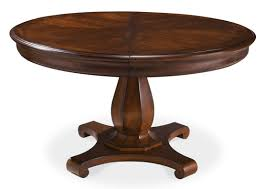 Round Dining Table For 6 With Leaf Round Table Leaf Starrkingschool