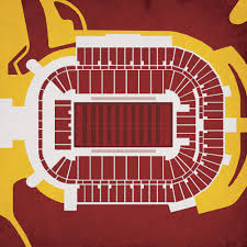 Sun Devil Stadium Map Art