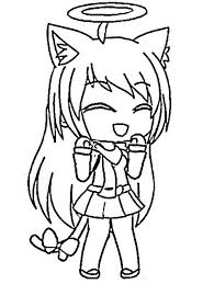 Gacha life colouring pages free transparent png download. Gacha Life 3 Coloring Page Free Printable Coloring Pages For Kids